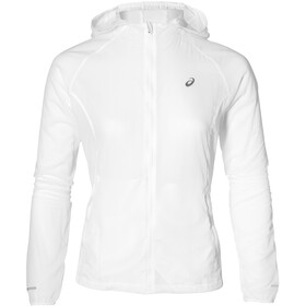 asics Packable Chaqueta Running Mujer, brilliant white